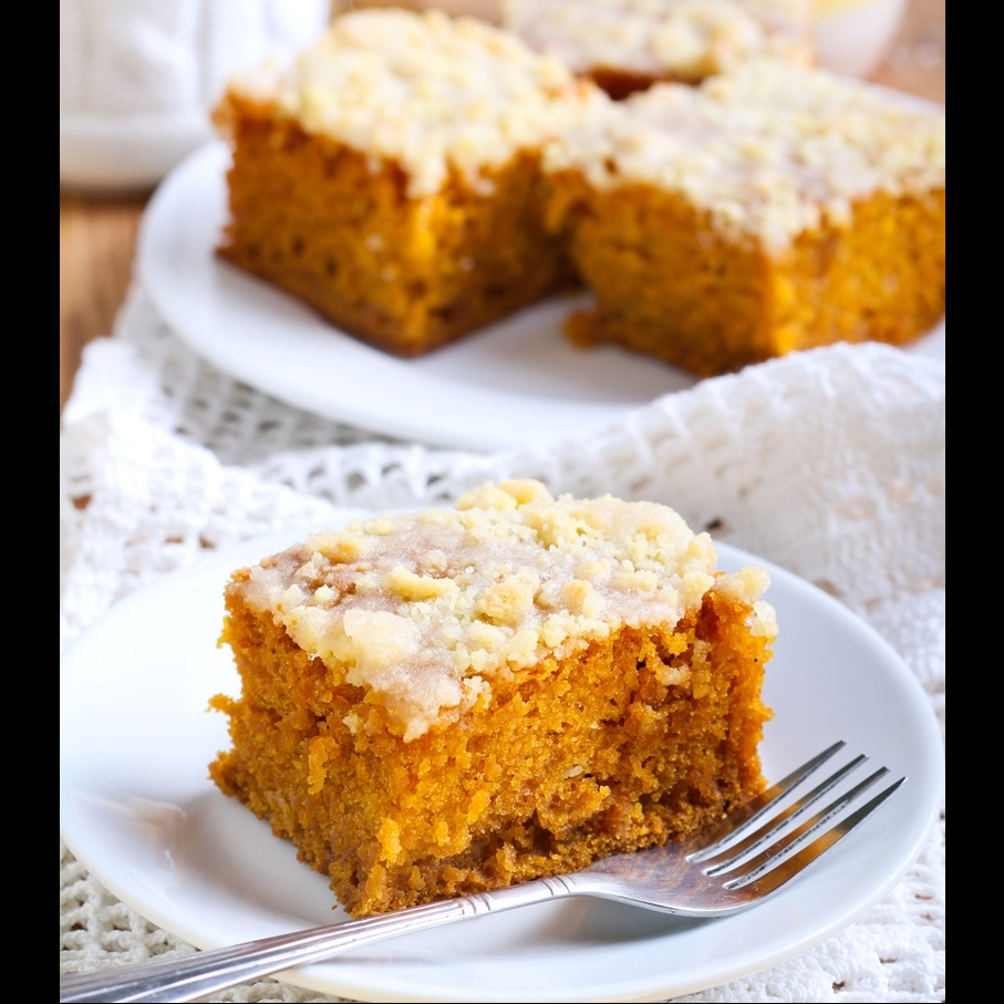 Photo of Pumpkin Spice Cake with Cinnamon frosting by Bindiya Sharma at BetterButter