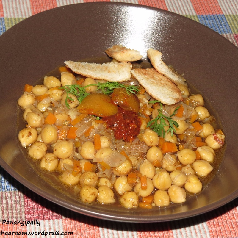 How to make Lablabi or Leblebi – A Tunisian Chickpea Soup