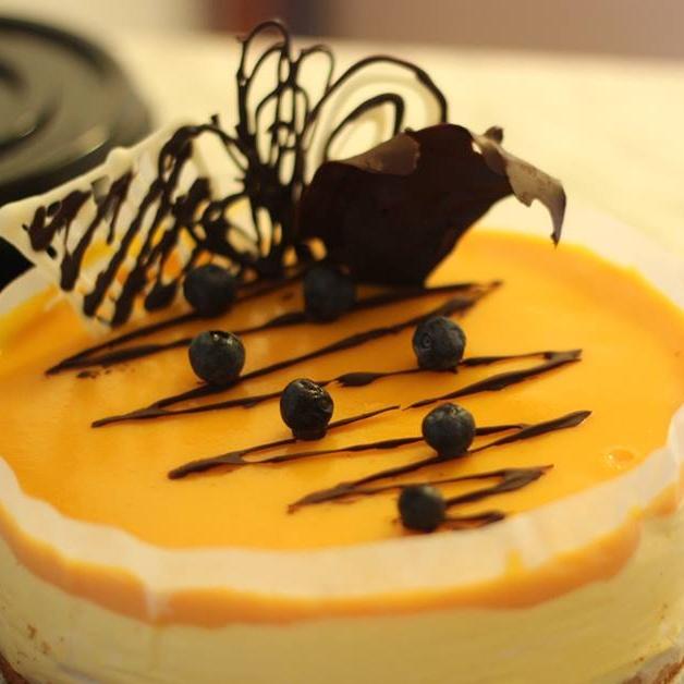 Photo of Mango Mousse Cake by Moumita Roychowdhury at BetterButter